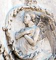 Lorenzo maitani e aiuti, scene bibliche 3 (1320-30) 07 angelo 1.jpg