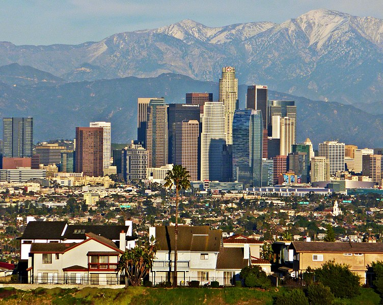 File:Los Angeles Skyline telephoto (2).jpg