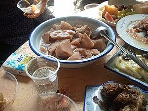 Hubei cuisine - Image: Lotus root Hubei style