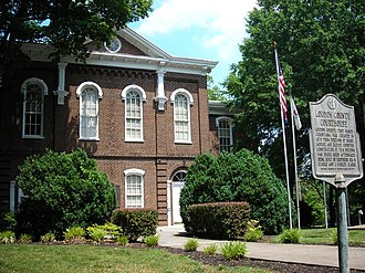 Loudon County, Tennessee - Image: Loudon County, Tennessee Courthouse
