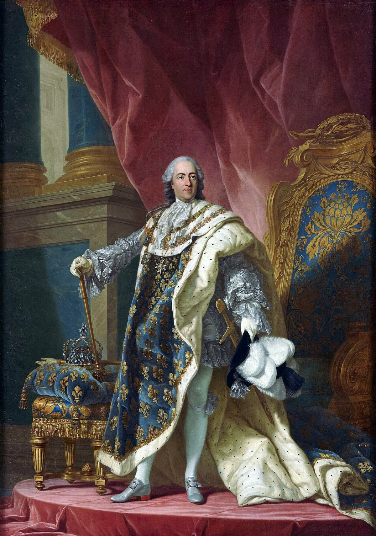 File Louis Xv  King Of France  1710-1774  Jpg
