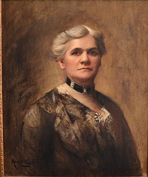 "Mariette Leslie Cotton - ""Louisa Archer Thornton"" by Mariette Leslie Cotton (1905, oil on canvas)"