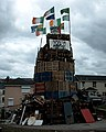 Loyalist bonfire, Londonderry-Derry - panoramio.jpg