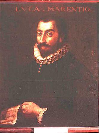 1599 in music - Luca Marenzio