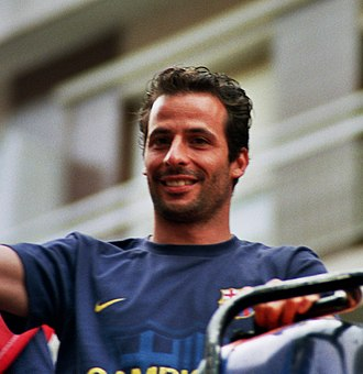 Olympique Lyonnais Reserves and Academy - Ludovic Giuly, a former graduate of the Lyon youth academy