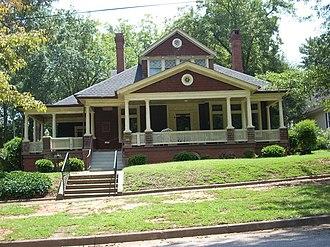 Seneca Historic District (Seneca, South Carolina) - Lunney Museum, August 2009