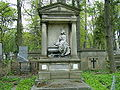 Lwow-Lyczakow-grobowiec prof Dabkowskiego.jpg