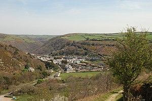 Lynton - Image: Lynton view