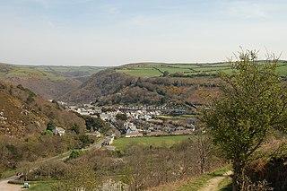 town in Devon, England