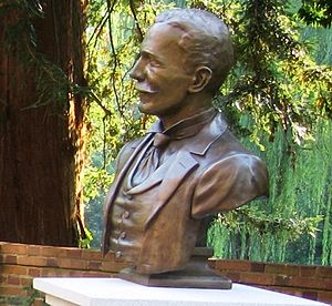 Seven Society (College of William & Mary) - Image: Lyon Gardiner Tyler bust