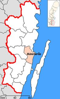 Mönsterås Municipality Municipality in Kalmar County, Sweden