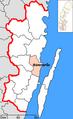 Mönsterås Municipality in Kalmar County.png