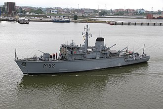 Lithuanian Naval Force - Image: M53Klaipeda 2