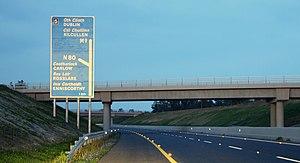 M9 motorway (Ireland) - Carlow bypass/N80 junction