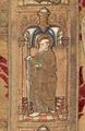 MCC-21689 Rode dalmatiek met annunciatie, visitatie en aanbidding der herders, Cyriacus, Petrus e.a. (12).tif