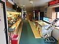 "MF ""Selbjørnsfjord"" car ferry on Halhjem-Våge connection, Hordaland, Norway. Photo of interior 2018-03-19. Snack and food sale in saloon (kiosk) B.jpg"