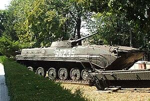 MLI-84 - MLI-84 (basic version) on display at the National Military Museum, Bucharest