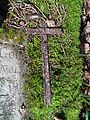 MOs810 WG 15 2016 (Pyzdry Forest II) (Anielewo, old ev. cemetery) (Ludwig Schwar, cross).JPG