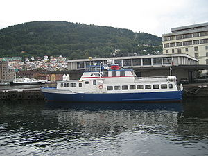 Epos at dock in Bergen