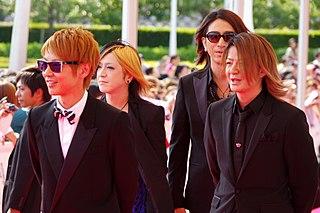 Glay rock band from Japan