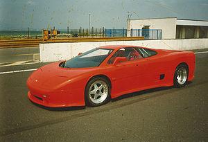 MTX Tatra V8 - MTX Tatra V8 - first prototype