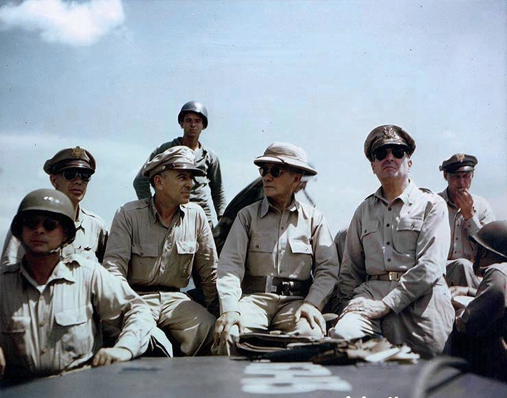 MacArthur, Kenney and Sutherland