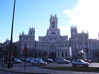 Palace of Comunication in Plaza Cibeles