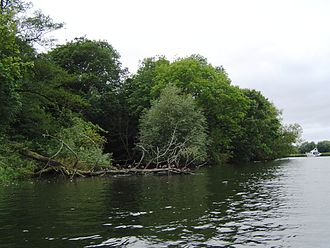 Magpie Island - Channel in the middle of Magpie Island