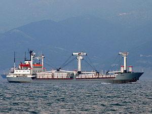 Maher - IMO 7229590 - Port of Novorossiysk, Russia 25-Jul-2005.jpg
