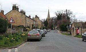Kirk Deighton - Image: Main Street, Kirk Deighton