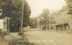 Main Street, South Windham c. 1910