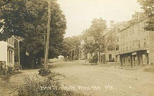 Windham, Maine - Main Street, South Windham c. 1910