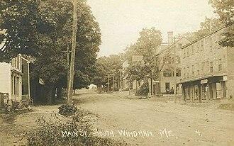 Windham, Maine - Main Street, South Windham c. 1910