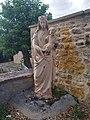 Maizilly - Statue Vierge Marie salle des fêtes (août 2020).jpg
