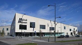 Malmömässan - The new MalmöMässan in 2012.