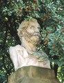 Malopolska Krakow Kopernika 27 Ogród Botaniczny popiersie Warszewicz stan 2001r A-575.tif
