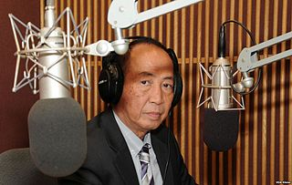 Mam Sonando Cambodian radio journalist (born 1942)