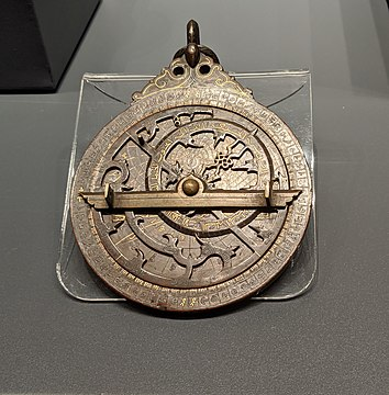 Mamluk era astrolabe%2C 1282., From WikimediaPhotos