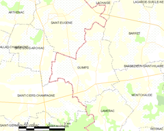 Map commune FR insee code 16160.png