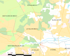 Map commune FR insee code 33519.png