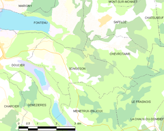 Map commune FR insee code 39518.png