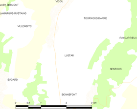 Map commune FR insee code 65293.png
