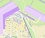Map of Edinburgh Airport tram terminus (OSM standard, zoom 16).jpg