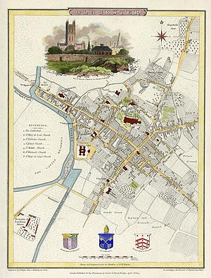 Gloucester - Gloucester in 1805