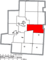 Map of Morrow County Ohio Highlighting Franklin Township.png