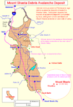 Map of Mount Shasta debris avalanche.png