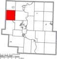 Map of Muskingum County Ohio Highlighting Licking Township.png