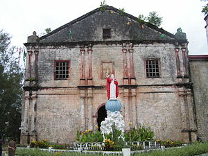 Maribojoc, Bohol - Image: Maribojocchurch