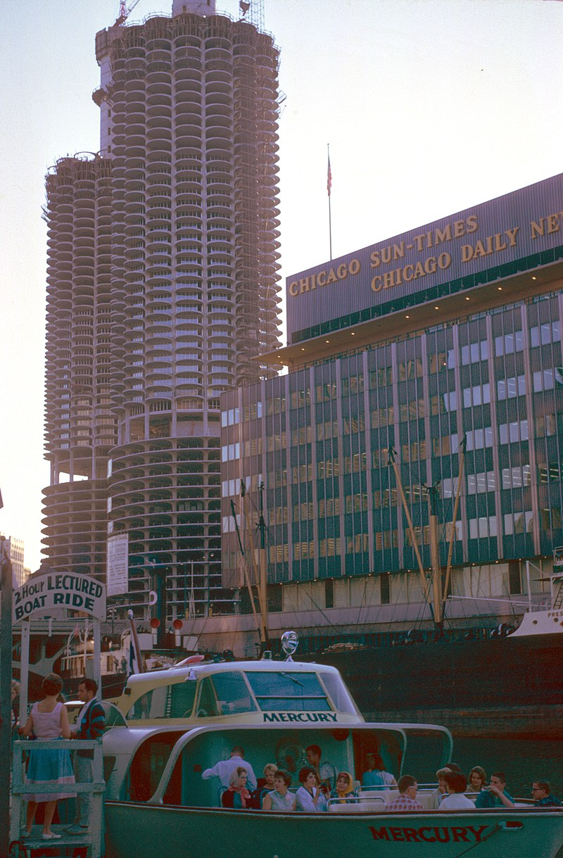 Marina City - Sun Times - Daily News - by Chalmers Butterfield.jpg