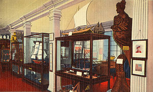 Boston Marine Museum - Boston Marine Museum, ca.1910s